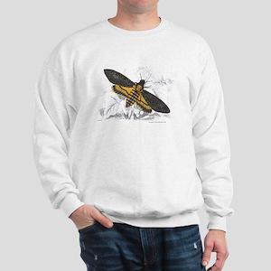 Deaths-hed Hawkmoth Moth (Front) Sweatshirt
