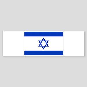 Israel - National Flag - Current Sticker (Bumper)