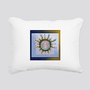 BATiqueSUN Rectangular Canvas Pillow