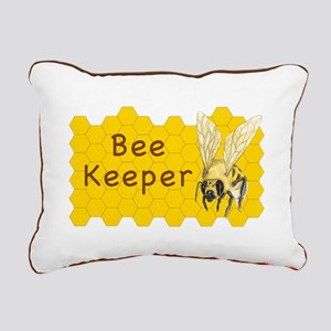 Bee Keeper ~ Rectangular Canvas Pillow