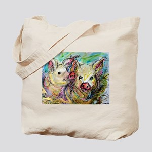 piglets, pig pair Tote Bag