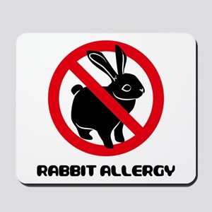 Rabbit Allergy Mousepad