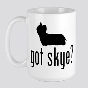 Skye Terrier Large Mug