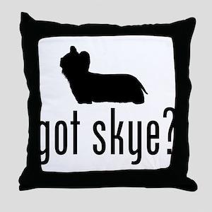 Skye Terrier Throw Pillow