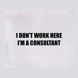 I Don't Work Here. I'm A Consultant Stadium Blank