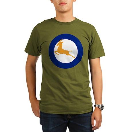 1947-1957 SAAF roundel Organic Men's T-Shirt (dark
