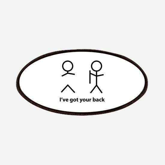 I've got your back Patches