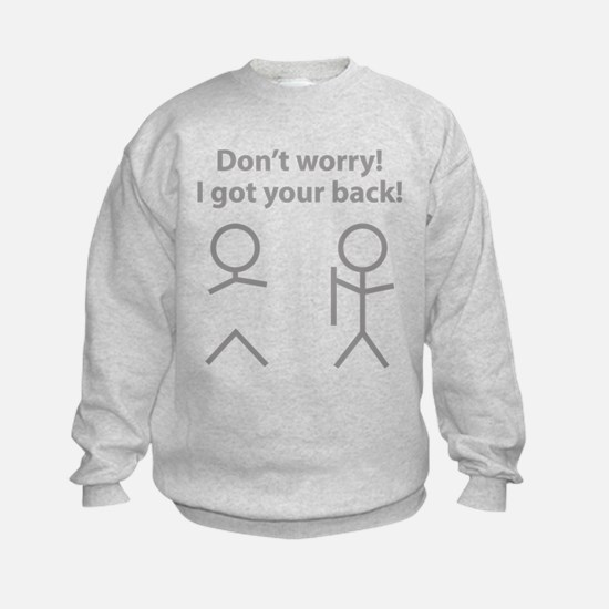 Don't worry! I got your back! Jumpers