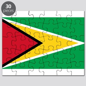 Guyana - National Flag - Current Puzzle