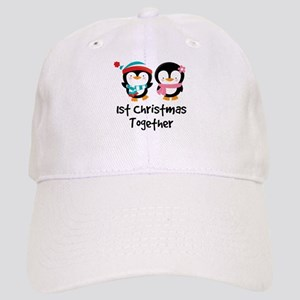 1st Christmas Together Penguin Cap