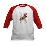 Dorycampa Regalis Moth (Front) Kids Baseball Jerse