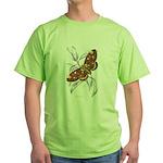 Dorycampa Regalis Moth Green T-Shirt