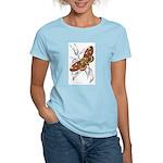 Dorycampa Regalis Moth Women's Pink T-Shirt