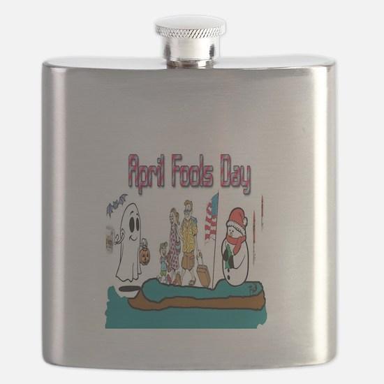 April Fools MIX UP Flask