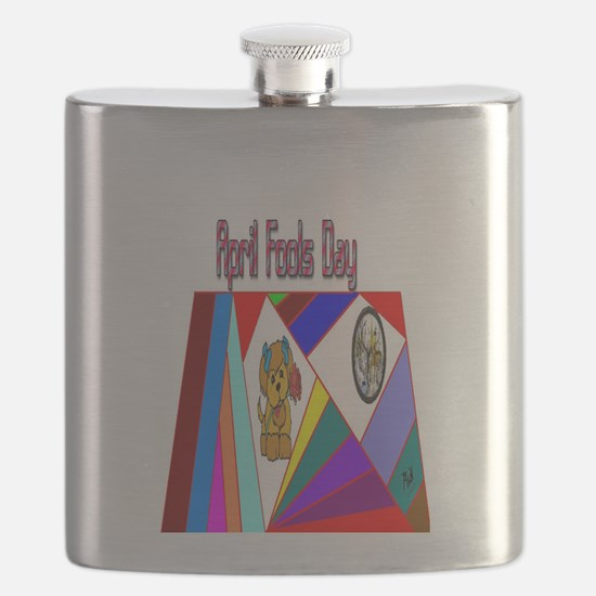 April Fools Day Fun Flask