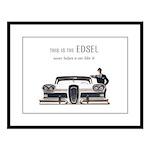 1958 Edsel Large Framed Print