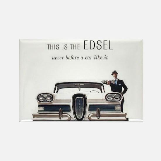 1958 Edsel Rectangle Magnet