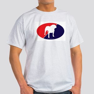 RWB Pit Bull Ash Grey T-Shirt