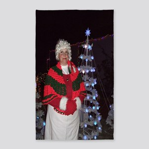 Christmas Mrs Santa 3'x5' Area Rug