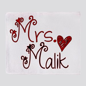 Mrs. Zayn Malik Throw Blanket