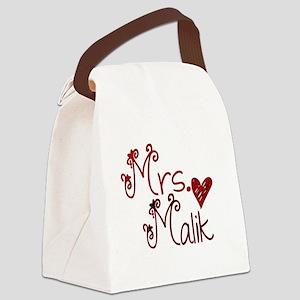 Mrs. Zayn Malik Canvas Lunch Bag