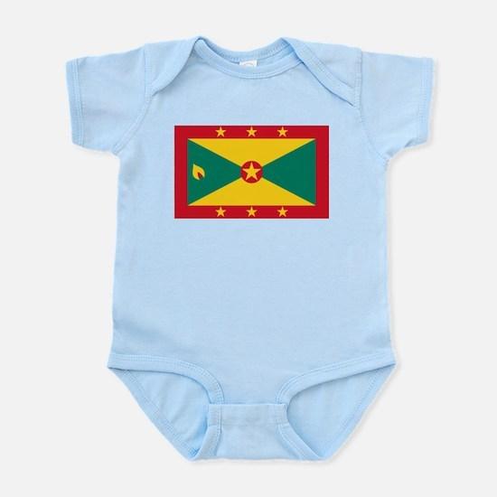 Grenada - National Flag - Current Infant Bodysuit