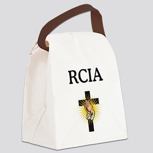 RCIA Cross Canvas Lunch Bag
