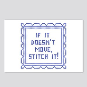 Stitch It! Postcards (Package of 8)
