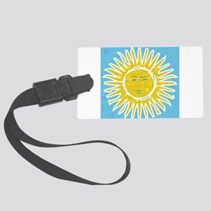 Argentina Sol Large Luggage Tag