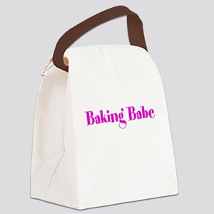 Baking Babe Canvas Lunch Bag