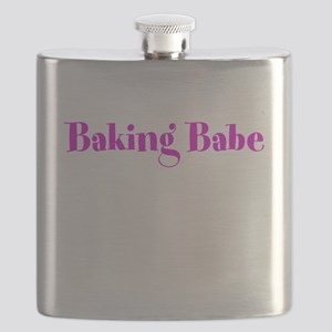 Baking Babe Flask