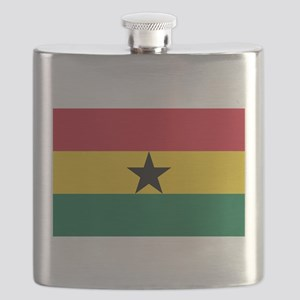 Ghana - National Flag - Current Flask