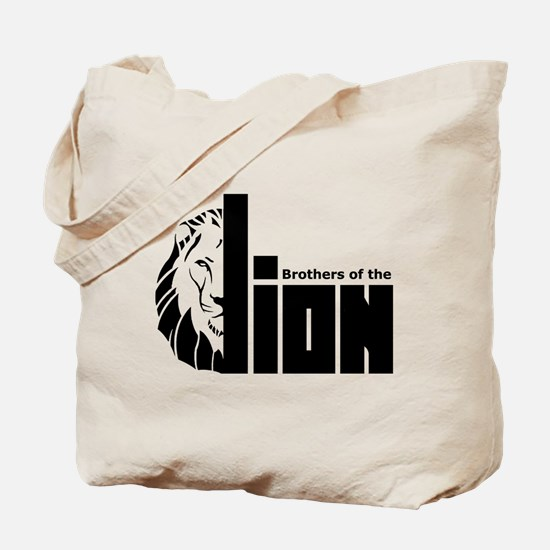 Brothers of the Lion Tote Bag
