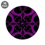 Purple and Black Goth Heart Pattern 3.5