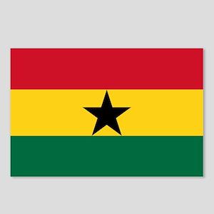 Ghana - National Flag - Current Postcards (Package