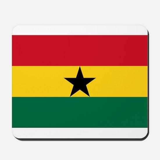 Ghana - National Flag - Current Mousepad