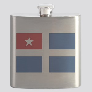 Flag of Crete Flask