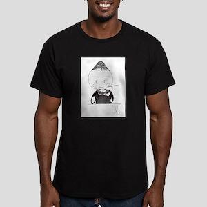 audrey Men's Fitted T-Shirt (dark)