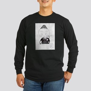 audrey Long Sleeve Dark T-Shirt