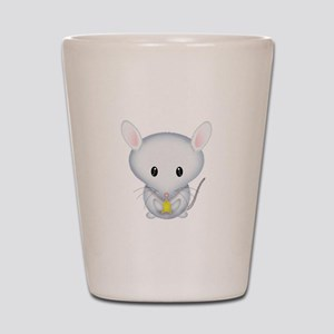 Little White Mouse Shot Glass