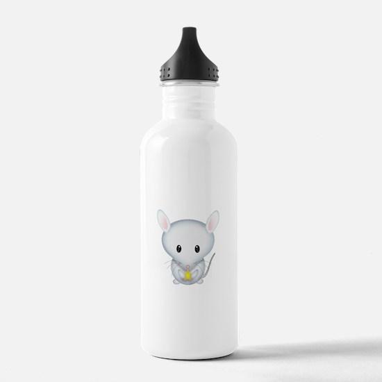 Little White Mouse Water Bottle