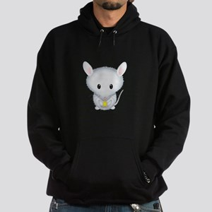 Little White Mouse Hoodie (dark)