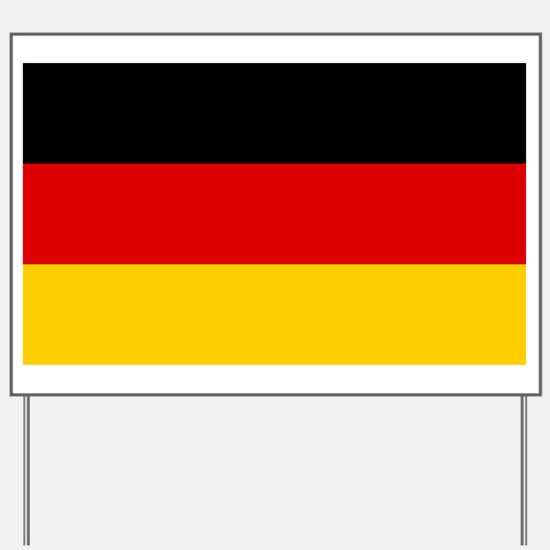 Germany - National Flag - Current Yard Sign