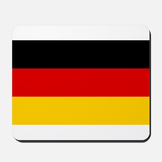 Germany - National Flag - Current Mousepad