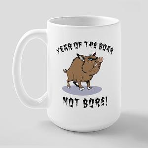 Year of The Boar Large Mug