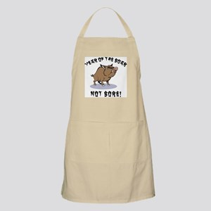 Year of The Boar BBQ Apron
