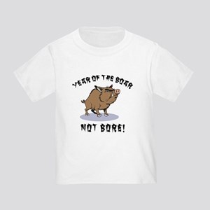 Year of The Boar Toddler T-Shirt