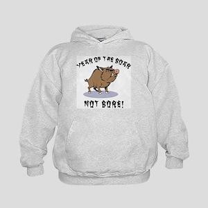 Year of The Boar Kids Hoodie