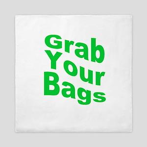 Grab Your Bags Queen Duvet