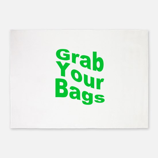 Grab Your Bags 5'x7'Area Rug